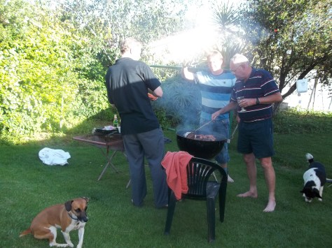 Bertie with the braai masters