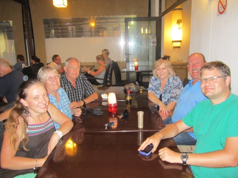 Clifton's birthday dinner with both sets of parents at our favourite restaurant, Eastern Fusion in Big Bay