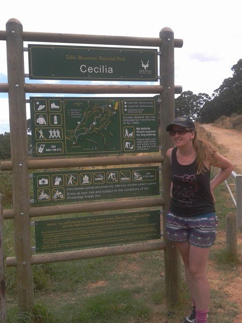 Trying out the Cecelia Forest hike in Constantia