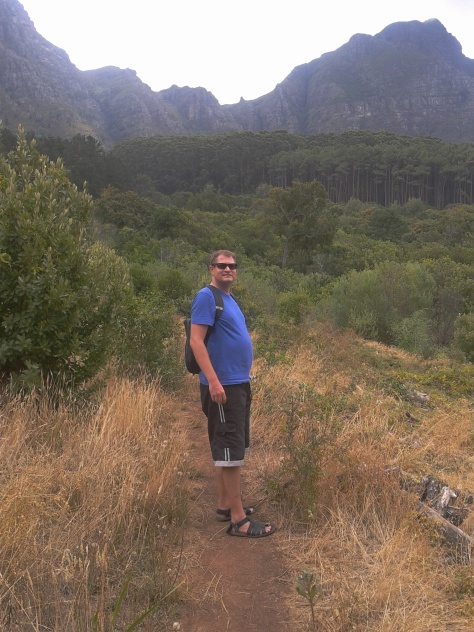 There's my boy in Newlands Forest