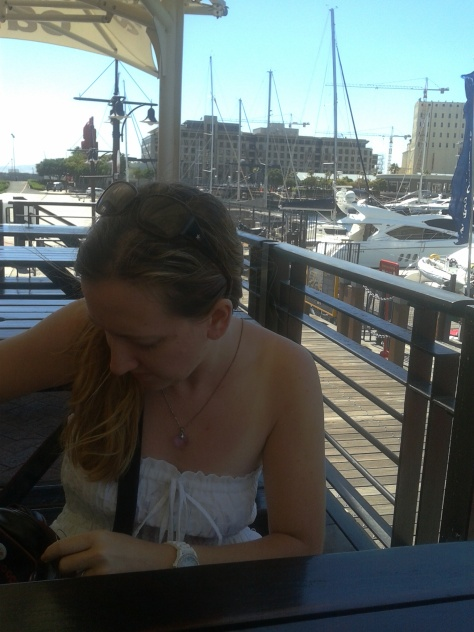 Breakfast at the V&A Waterfront...