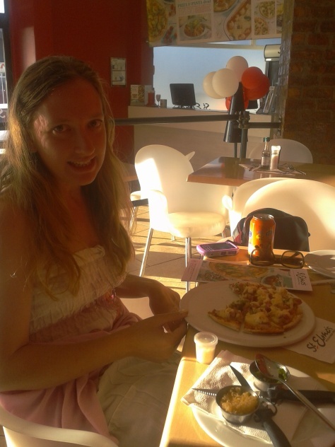 What could be better than pizza for birthday dins?
