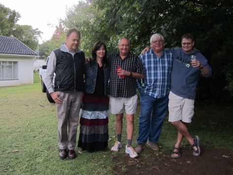 Hubby had a bit of a reunion with old colleagues - such great people :)