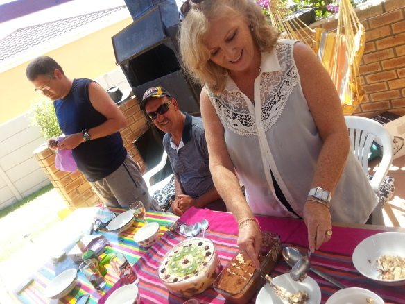 Proving her status as dessert queen! Best homemade tiramisu and trifle ever