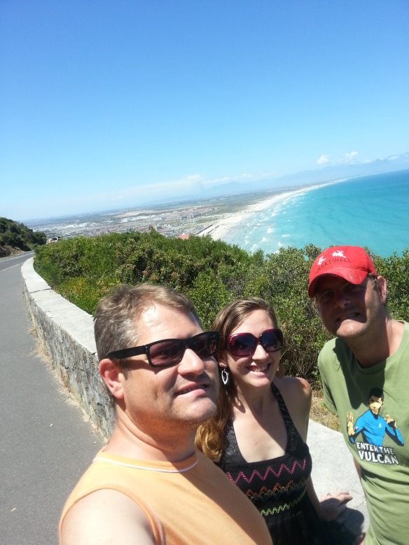 Above Muizenberg on our Boxing Day drive