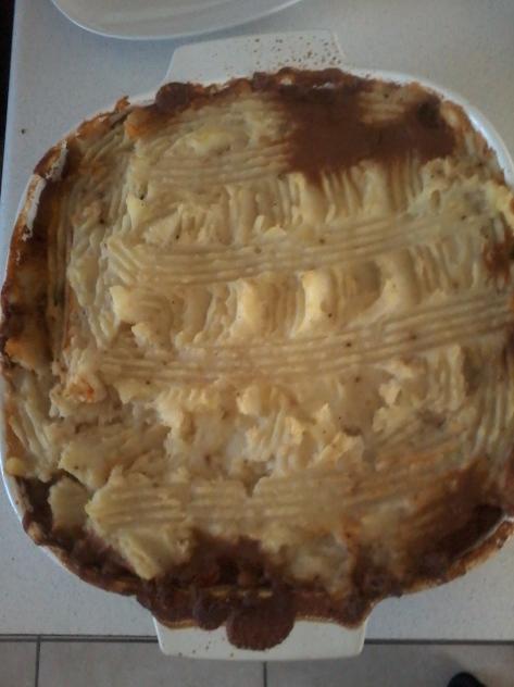 Scottage pie
