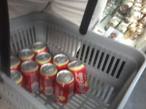 We bought ALL the Vanilla Cokes! Well, almost