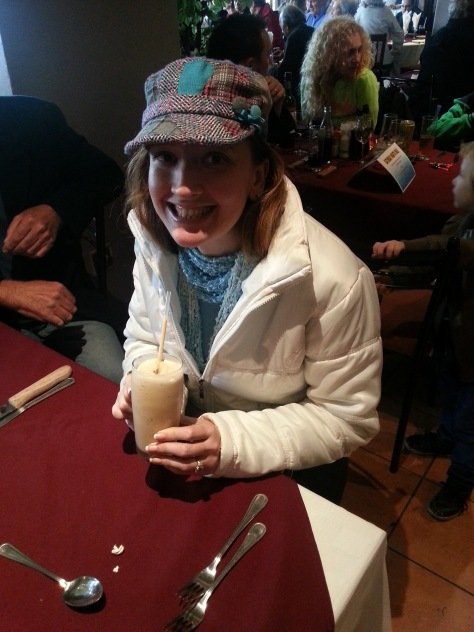 Coffee shake at the Italian Club