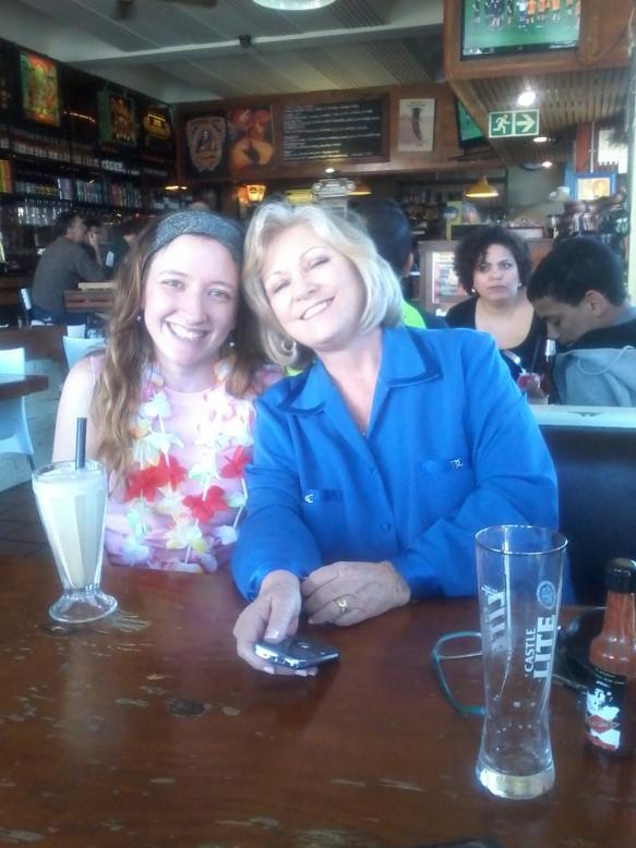 Me, mom, and my Espresso shake