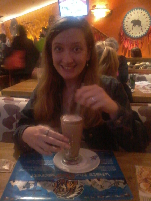 One way to perk up a long, late Monday? Spur's Amarula hot chocolate!