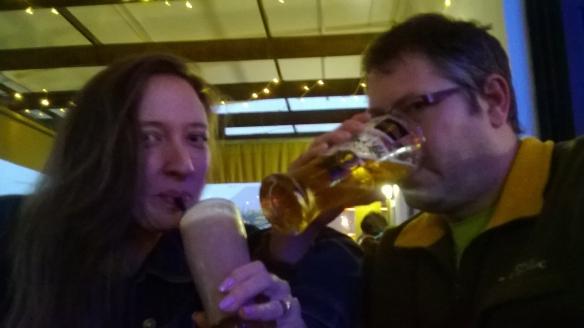 Anniversary drinks!