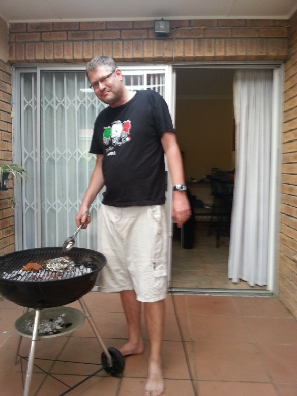 Husband braaied for the first time this year so we could end Heritage Day on an authentic note