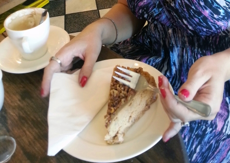 And for me? A slice of pecan praline cheesecake, thank you very much ;)