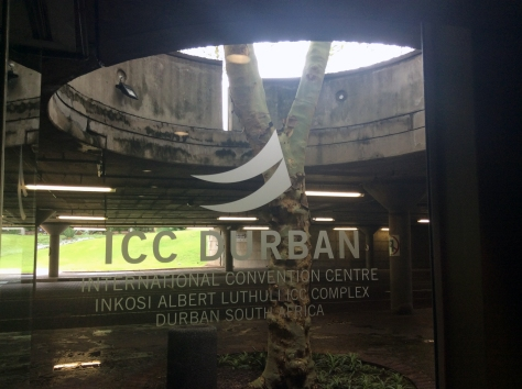"There's a tree growing through the middle of the Durban ICC""s parking lot, did you know?"