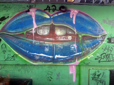 Some colourful Durban graffiti