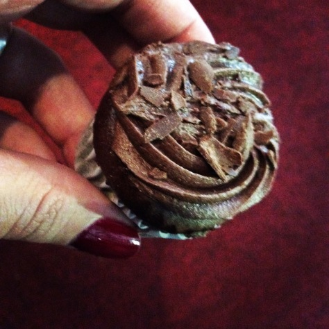 Belated birthday cake in the office is a surefire way to uplift a Thursday. These Woolies cupcakes were divine