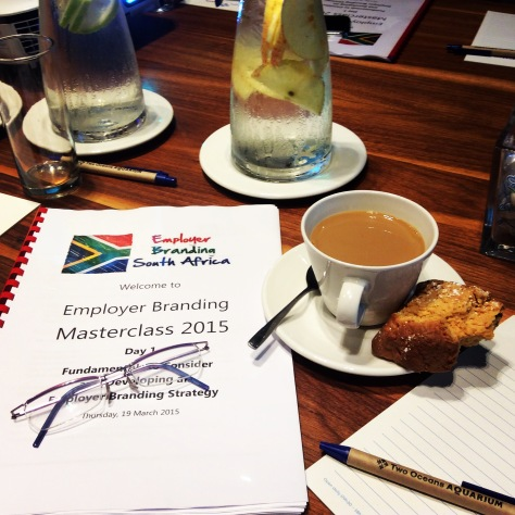 How I started my Thursday, at the Employer Branding Masterclass at the Aquarium