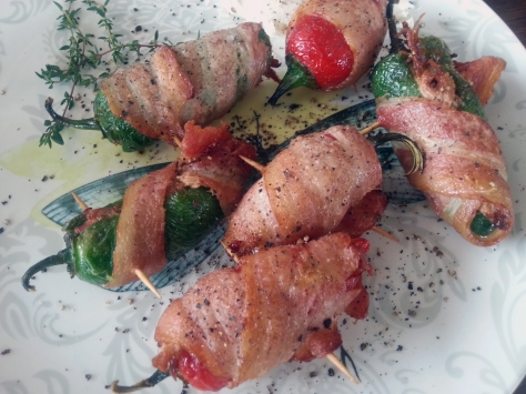 The piggy poppers, in all their glory. Well worth the trip to Hout Bay.