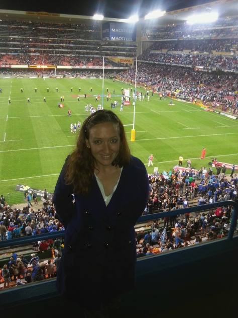 Not Photoshopped. Really me at Newlands.