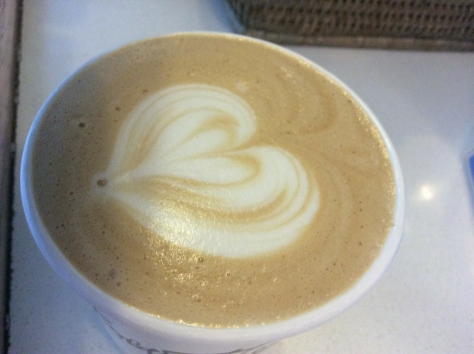 For R19.50, my Fair Trade cappuccino sure did look like it was made with love