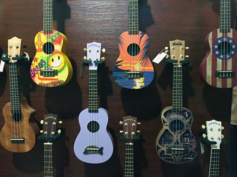 Isn't this just the best collection of guitars you've seen? So many more to marvel at when I attended an evening event at Marshall Music in Cape Town.