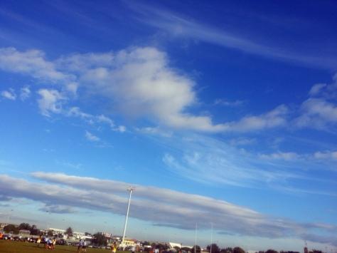 Little bit of rugby, lottle bit of cloud. Yes, that's now a word - lottle.