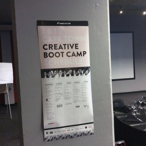 This is what we attended at the Fire & Ice - the closing awards evening of the first ever One Show diversity boot camp to be held in Cape Town. Click here for my overview.