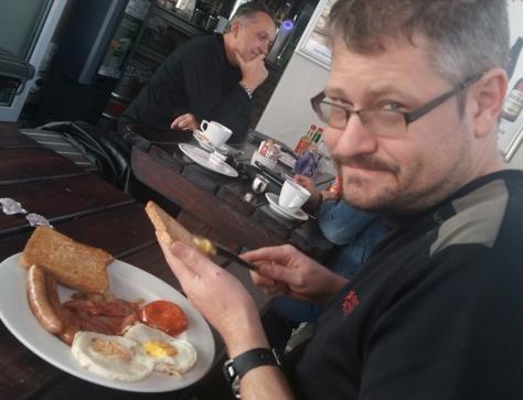 English breakfast at Ilha