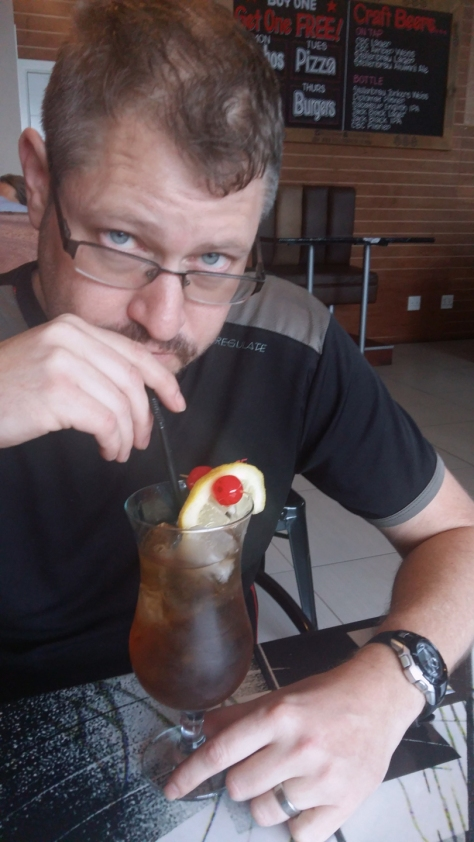 Long Island Ice Tea at Rockstar Diner, Cape Town