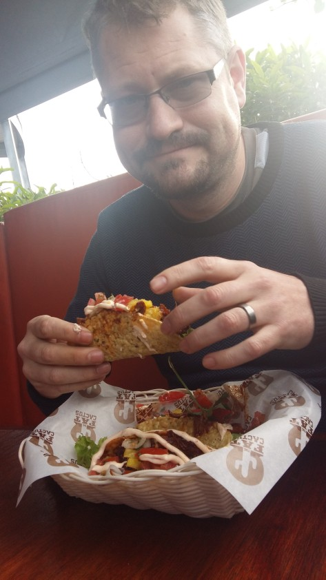 Pulled pork tacos at Fat Cactus, Woodstock