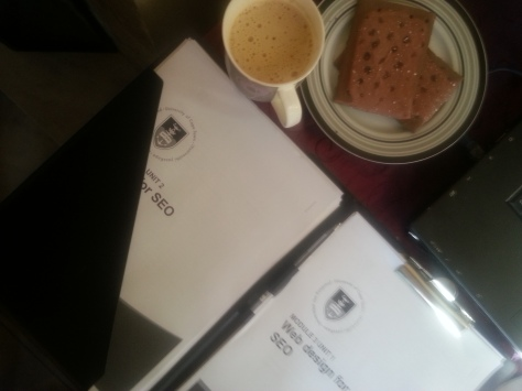 Poptarts and cappuccino and SEO study notes