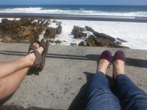 Sitting in Sea Point