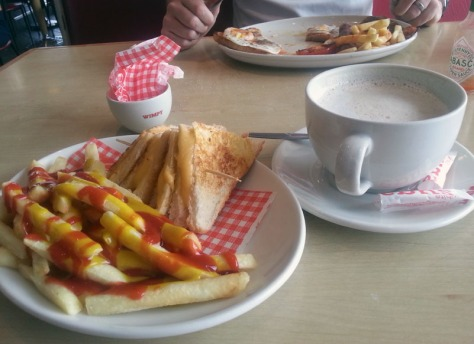 Wimpy breakfast