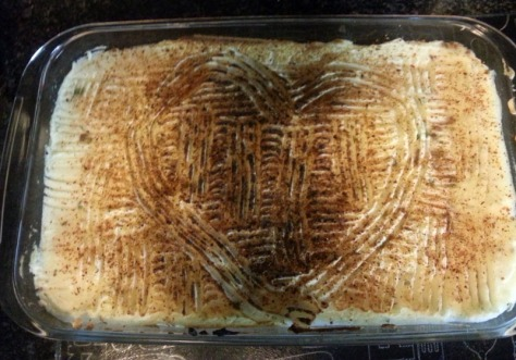 Scottage Pie is cottage pie made by a Scottish person