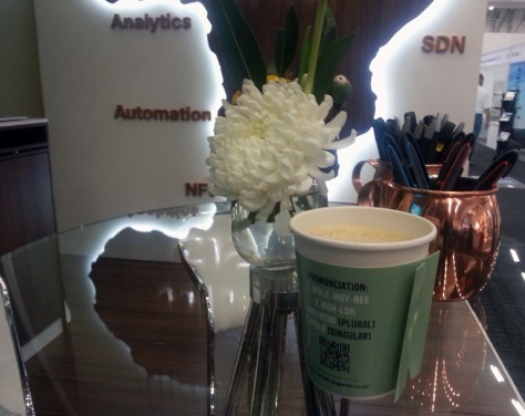 Coffee at AfricaCom