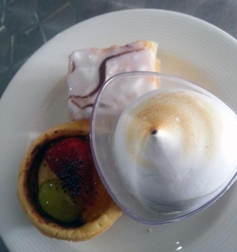 Dessert at AfricaCom