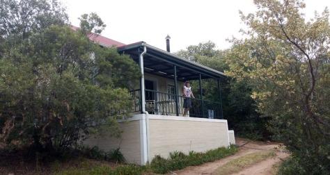 Chalet verandah