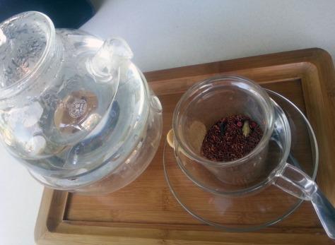 Orange-Rooibos tea