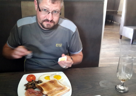Breakfast at the Black Bull
