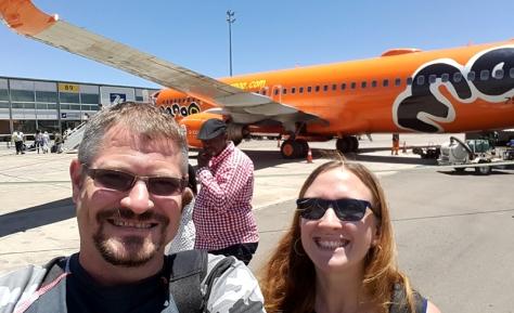 Mango plane at Lanseria