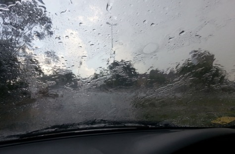 Hail in Joburg