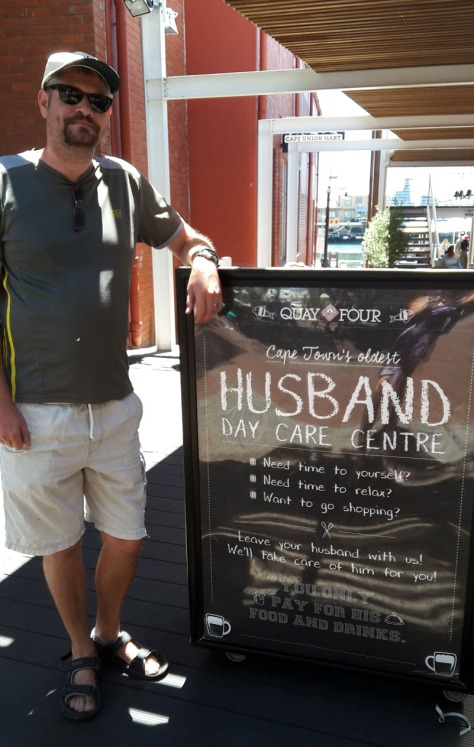 Husband day care at Waterfront