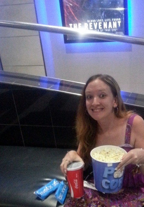 Popcorn and Cola at the iMax in Cape Gate