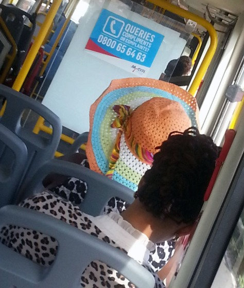 Animal-print tops on MyCiti