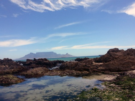 Table Mountain seen from Blouberg