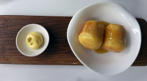 Honey brioche at Steenberg Estate's Bistro Sixteen82