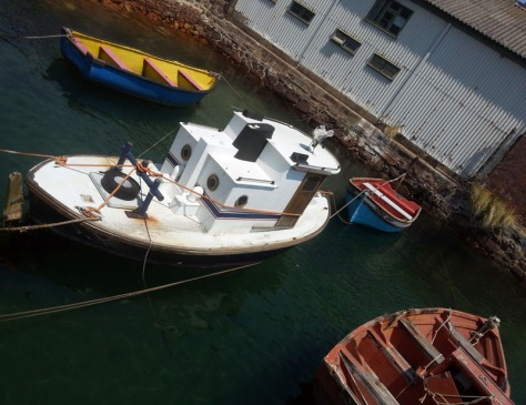 Little boats in Simon's Town harbour
