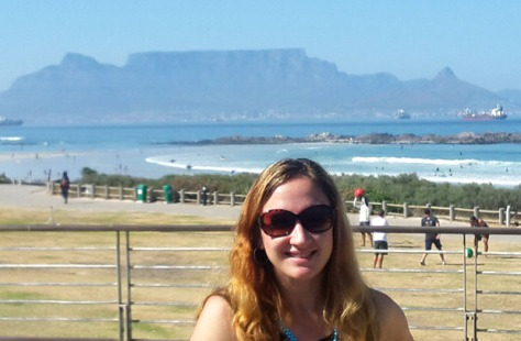 Leigh at Table Mountain