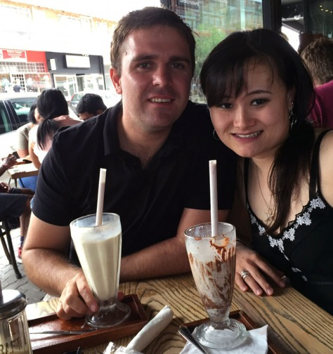 Milkshakes at Craft, Parkhurst